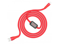 Cablu Date si Incarcare USB la Lightning HOCO SELECTED Timing S4, 1.2 m, Negru, Blister