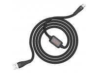 Cablu Date si Incarcare USB la USB Type-C HOCO SELECTED Timing S4, 1.2 m, Negru, Blister