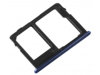 Suport Card - Suport SIM 2 Albastru Samsung J6 Plus (2018) J610 Dual SIM