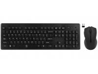 Kit tastatura wireless si mouse Rebeltec MILLENIUM, Negru, Blister Original