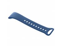Curea Ceas silicon cu catarama pentru Samsung Gear Fit 2 SM-R360, Marime L, Albastra, Bulk