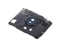 Rama Geam Camera Spate cu Antena Motorola Moto G7 Neagra