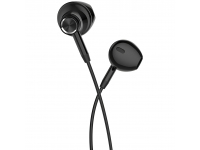 Handsfree Casti EarBuds HOCO L13 Grandee, 1.2m, Cu microfon, USB Type-C, Negru, Blister