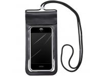 Husa TPU OEM Universala Airbag Waterproof pentru Telefon 6.6 inci, Neagra, Blister