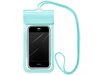 Husa TPU OEM Universala Airbag Waterproof pentru Telefon 6.6 inci, Verde, Blister