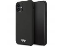 Husa TPU Mini Cooper pentru Apple iPhone 11, Neagra, Blister MIHCN61SIBK