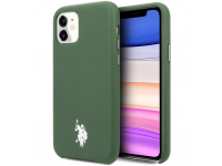 Husa TPU U.S. Polo Wrapped pentru Apple iPhone 11, Verde, Blister USHCN61PUGN