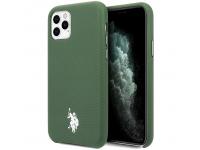 Husa TPU U.S. Polo Wrapped pentru Apple iPhone 11 Pro Max, Verde, Blister USHCN65PUGN