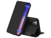 Husa Piele DUX DUCIS Skin X pentru Samsung Galaxy S10 Lite, Neagra, Blister