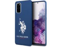 Husa TPU U.S. Polo pentru Samsung Galaxy S20 Plus G985, Bleumarin, Blister USHCS67SLHRNV