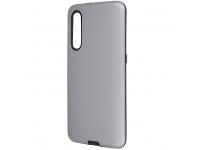 Husa TPU OEM Defender Smooth pentru Samsung Galaxy A71 A715, Argintie, Bulk