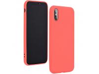Husa TPU Forcell Silicone pentru Apple iPhone 11 Pro Max, Roz, Bulk