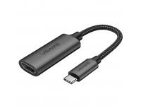 Adaptor Audio si Video HDMI la USB Type-C Usams U22, US-SJ282, 4K HD, 0.15 m, Negru, Blister SJ282HD01
