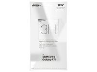 Folie Protectie Ecran Samsung Galaxy A71 A715, Plastic, Blister GP-TFA715WSA