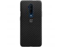Husa Plastic OnePlus 7T Pro, Karbon, Neagra, Blister 5431100115