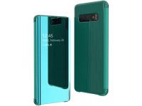 Husa Plastic OEM Flip View pentru Samsung Galaxy S10 G973, Verde, Blister