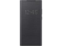Husa Samsung Galaxy Note 20 N980 / Samsung Galaxy Note 20 5G N981, Led Wallet Cover, Neagra EF-NN980PBEGEU