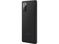 Husa TPU Samsung Galaxy Note 20 N980 / Samsung Galaxy Note 20 5G N981, Silicone Cover, Neagra EF-PN980TBEGEU
