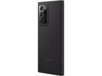 Husa TPU Samsung Galaxy Note 20 Ultra N985 / Samsung Galaxy Note 20 Ultra 5G N986, Silicone Cover, Neagra, Blister EF-PN985TBEGEU