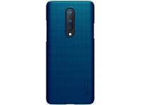 Husa Plastic Nillkin Super Frosted pentru OnePlus 8, Bleumarin, Blister