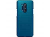 Husa Plastic Nillkin Super Frosted pentru OnePlus 8 Pro, Bleumarin