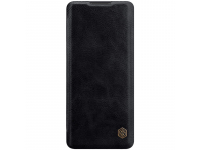 Husa Piele Nillkin Qin Book pentru OnePlus 8 Pro, Neagra