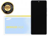 Display - Touchscreen Samsung Galaxy S10 Lite G770, Cu Rama, Negru GH82-21672A