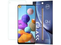 Folie Protectie Ecran OEM pentru Samsung Galaxy A21s, Sticla securizata, 9H, Blister