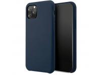 Husa TPU Vennus Silicone pentru Apple iPhone 11, Bleumarin, Bulk