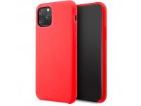 Husa TPU Vennus Silicone pentru Xiaomi Redmi K30, Rosie, Bulk