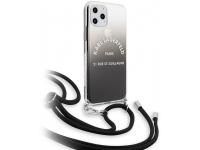 Husa TPU Karl Lagerfeld Gradient pentru Apple iPhone 11 Pro, Neagra, Blister KLHCN58WOGRBK
