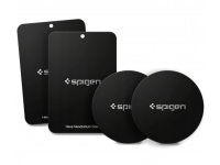 Set sticker metalic pentru suport auto magnetic Spigen Mp-4p (4 Bucati) Blister