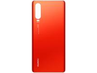 Capac Baterie Huawei P30, Rosu ( Amber Sunrise) Swap