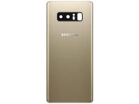 Capac Baterie - Geam Camera Spate Samsung Galaxy Note 8 N950, Auriu, Second Hand