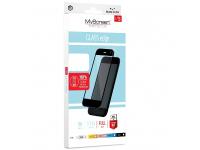 Folie Protectie Ecran MyScreen pentru Samsung Galaxy A71 A715, Sticla securizata, Full Face, Full Glue, MS Lite, Neagra, Blister