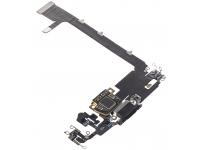 Banda Cu Conector Incarcare / Date - Microfon Apple iPhone 11 Pro Max, Negru