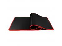Mousepad Gaming, 800x300x3mm, Negru-Rosu