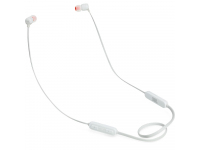 Handsfree Casti Bluetooth JBL Tune 110BT, In-Ear, Alba, Blister JBLT110BTBLKAM