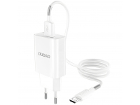 Incarcator Retea cu cablu MicroUSB Dudao A3EU, QC 3.0, 1 X USB, Alb, Blister