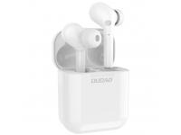 Handsfree Casti Bluetooth Dudao TWS U12Pro, MultiPoint, Alb, Blister