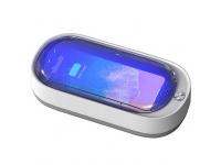 Sterilizator UV-C + UV-A OEM, Incarcare Wireless 15W, Functie Odorizant, Alb, Blister