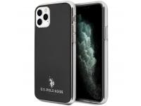 Husa TPU U.S. Polo Small Horse pentru Apple iPhone 11 Pro, Neagra, Blister USHCN58TPUBK