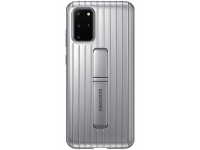 Husa Plastic Samsung Galaxy S20 Plus G985, Standing, Argintie, Bulk EF-RG985CSEG