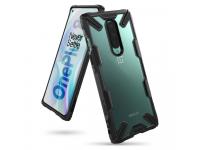 Husa Plastic - TPU Ringke Fusion X pentru OnePlus 8, Neagra, Blister FXOP0011