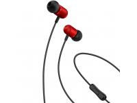 Handsfree Casti In-Ear XO Design EP5, Cu microfon, 3.5 mm, Rosu, Blister