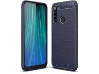 Husa TPU OEM Carbon pentru Xiaomi Redmi Note 8, Bleumarin, Bulk
