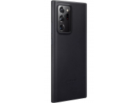 Husa Piele Samsung Galaxy Note20 Ultra ZN985, Leather Cover, Neagra, Blister EF-VN985LBEGEU