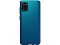 Husa TPU Nillkin Super Frosted pentru Samsung Galaxy A31, Bleumarin, Blister