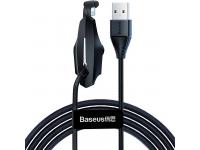 Cablu Date si Incarcare USB la Lightning Baseus Gamers 1.5A, 2 m, Negru, Blister CALXA-B01