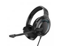 Handsfree Casti Bluetooth Baseus GAMO, Cu microfon si Telecomanda, SinglePoint, Negru, Blister NGD05-01